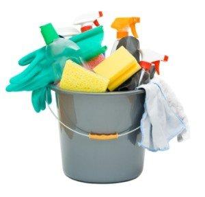 förvara och organisera ditt städmaterial och rengöringsprodukter